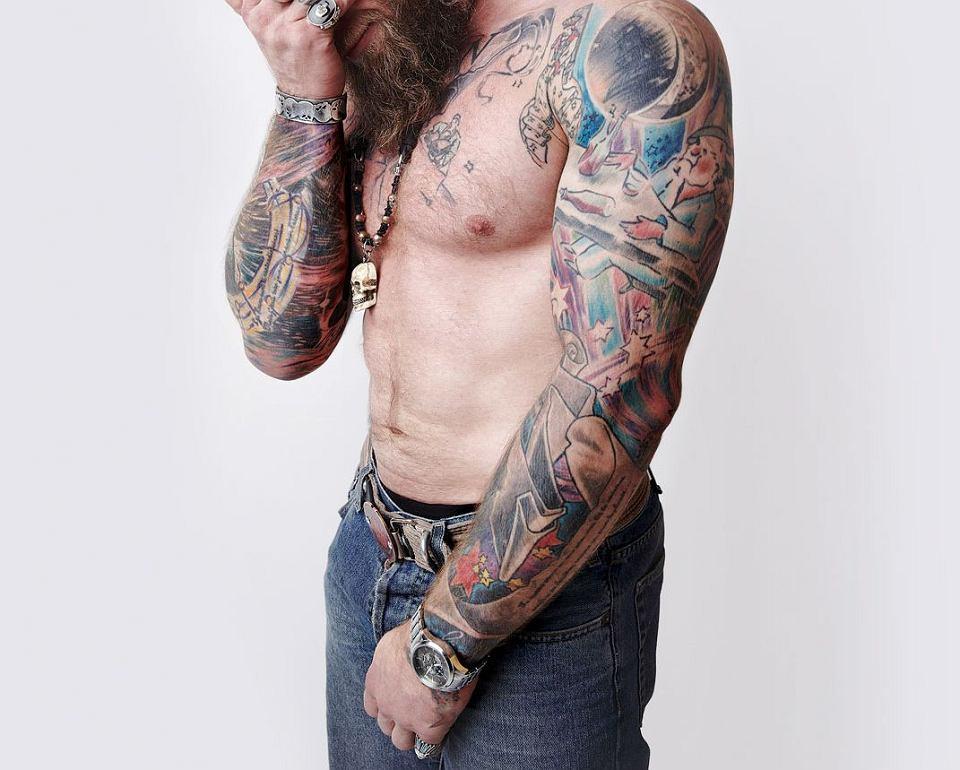 Sławomir Frączek Król Tatuażu Z Poznania Potrafi Na Ciele
