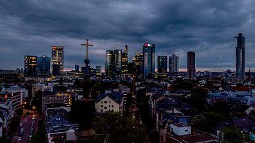 Niemcy. PKB w pierwszym kwartale spadł o 1,8 procent. Na zdjęciu Frankfurt