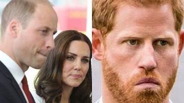 Książę William jest zaniepokojony wyznaniami brata