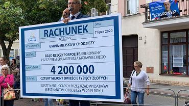 Jacek Gursz z rachunkiem na ponad 4 mln złotych.