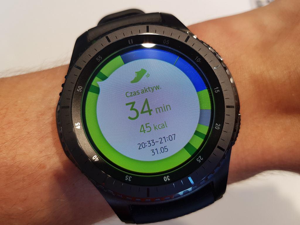 Samsung Gear s3 - aktywności