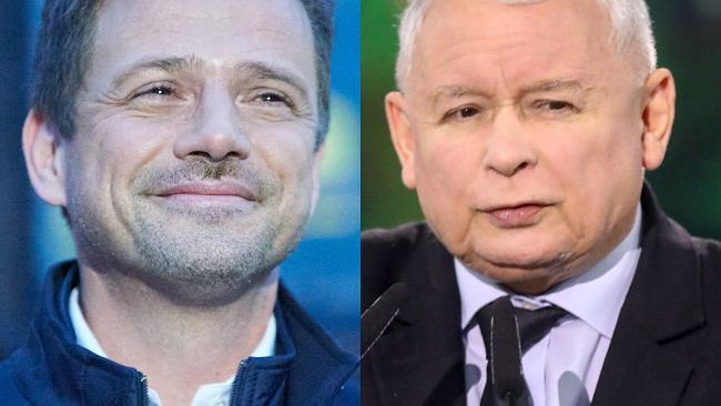 Wyborcy byli w szoku, że Rafał Trzaskowski jest taki wysoki. Polityk zażartował z TVP i Jarosława Kaczyńskiego