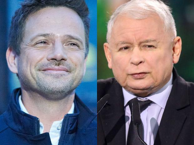 Rafał Trzaskowski spotkał się z wyborcami, którzy przywitali go okrzykiem zdziwienia, że jest taki wysoki. Nagranie znalazło się na Instagramie kandydata na prezydenta. Polityk zażartował tam z TVP.