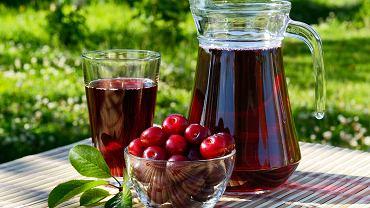 Sok z wiśni ma wyjątkowy smak i jest źródłem wielu witamin.