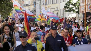Lublin. Marsz Równości w Lublinie