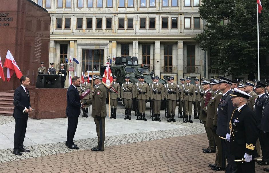 Andrzej Duda wręczył nominacje generalskie i awanse