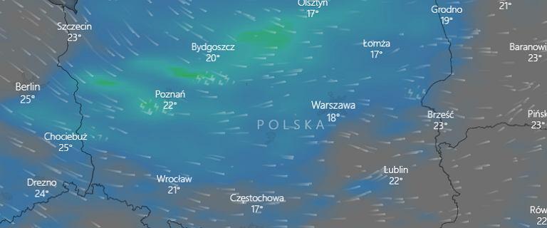 """W weekend nad Polskę nadciągnie """"chłodna masa polarna"""". IMGW ostrzega"""