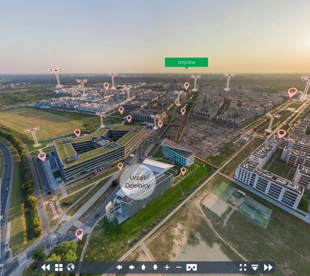 Multimedialny spacer po Wilanowie