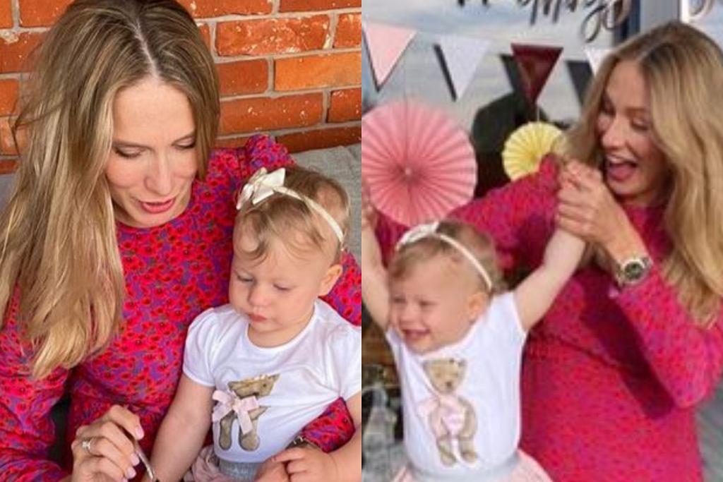 Natalia Klimas urządziła córce urodziny