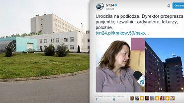 Szpital w Starachowicach, gdzie kobieta urodziła między łóżkami