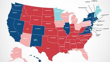 Kto wygrywa w stanach