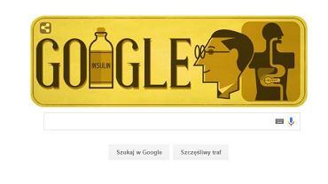 Frederick Banting - Google Doodle z okazji 125. urodzin odkrywcy insuliny