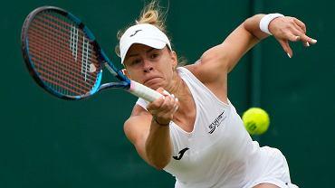 Wimbledon. Magda Linette wygrała z Amandą Anisimovą