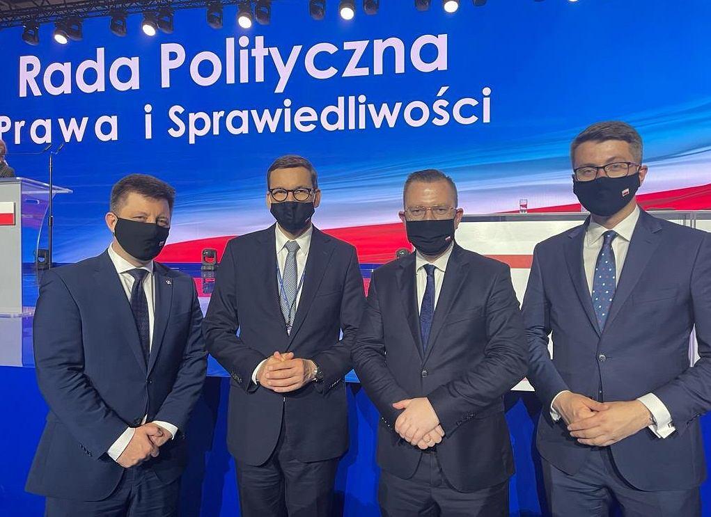 Mateusz Morawiecki został wybrany na zastępcę Jarosława Kaczyńskiego