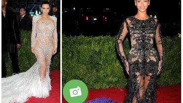 Kim Kardashian oraz Beyonce na Met Gala 2015