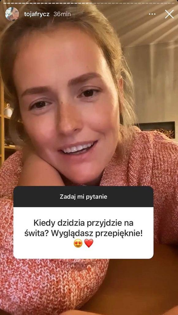 Olga Frycz zdradza szczegóły porodu. Mówi o samotnym macierzyństwie. 'Nie boje się prosić o pomoc'