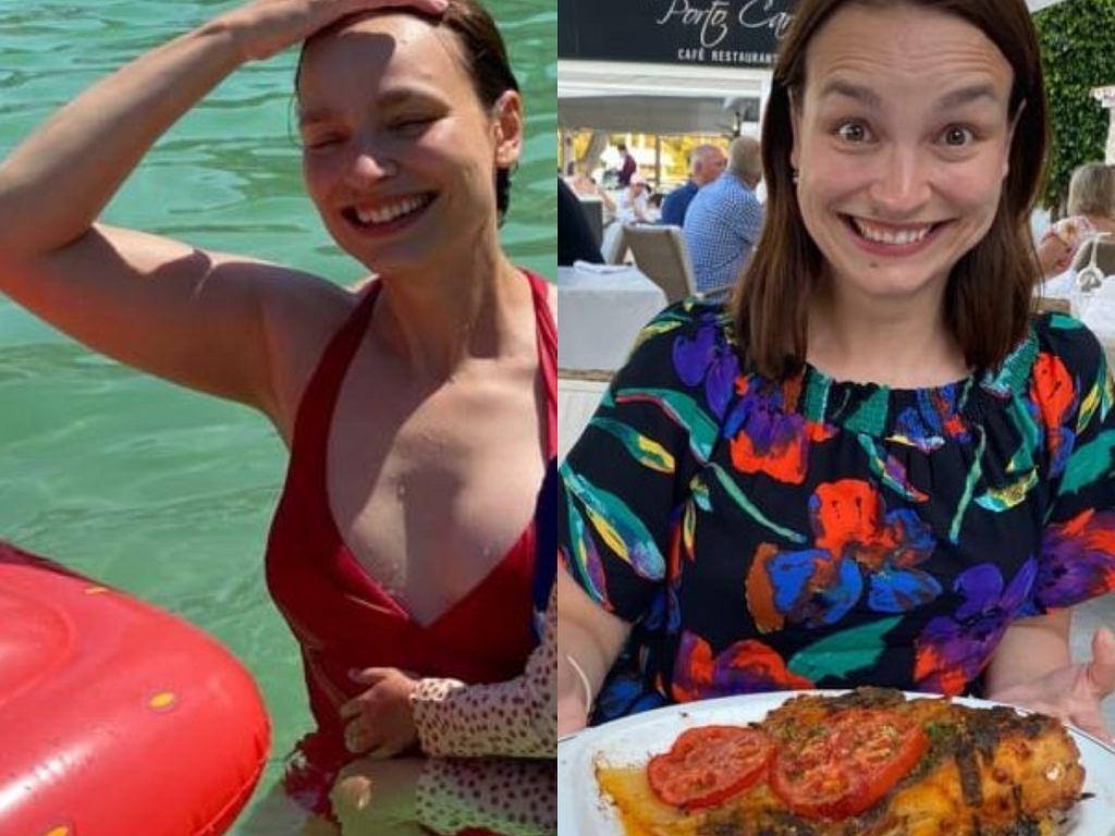 Anna Starmach na wakacjach
