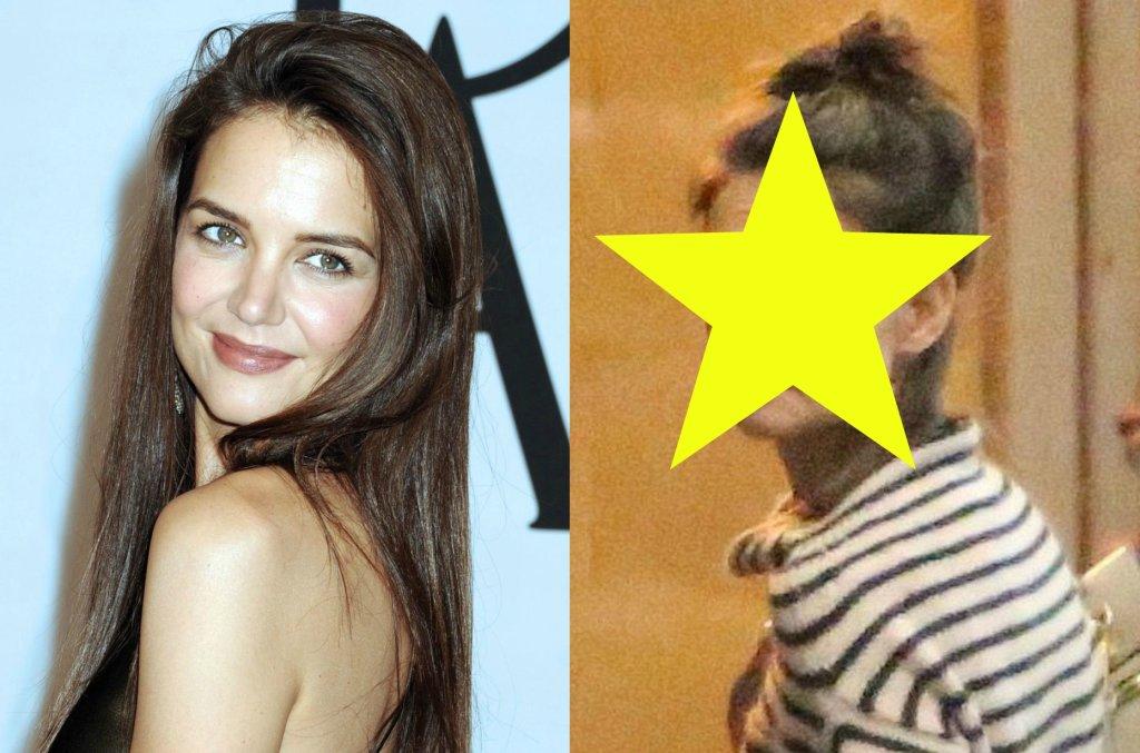Gdy tylko Katie Holmes pojawia się gdzieś bez makijażu, niemal od razu jej wygląd określany jest słowem