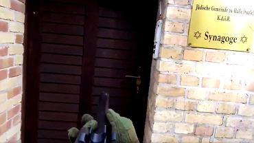 Atak na synagogę w Halle