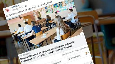 Czy nauczyciele powinni pozwalać uczniom na ściąganie?