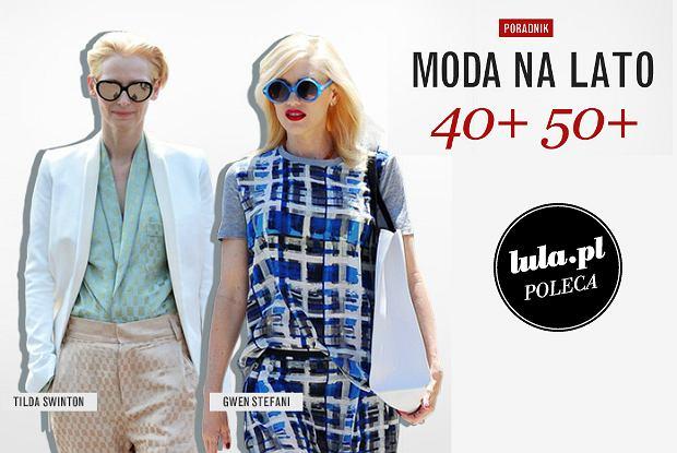 7ca39b520b2655 Moda na lato dla kobiety 40+ 50+ [PORADY]