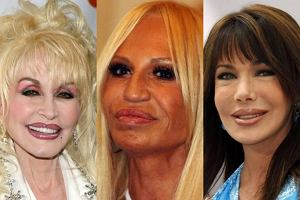 Hunter Tylo, Donatella Versace, Dolly Parton.