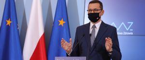 Morawiecki: Od soboty cała Polska w czerwonej strefie. Nauczanie zdalne w kolejnych klasach