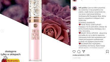 Nowa limitowana kolekcja kosmetyków Bell w sklepach Biedronka