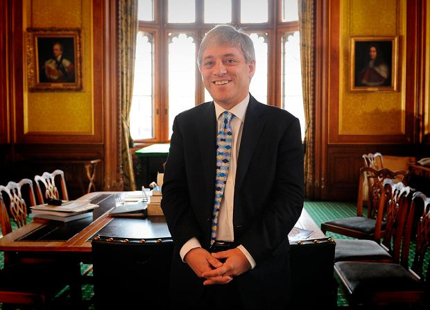 John Bercow. Zdjęcie z 2009, kiedy objął funkcję spikera brytyjskiej Izby Gmin.