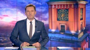 """Krzysztof Ziemiec, prowadzący """"Wiadomości"""" TVP"""