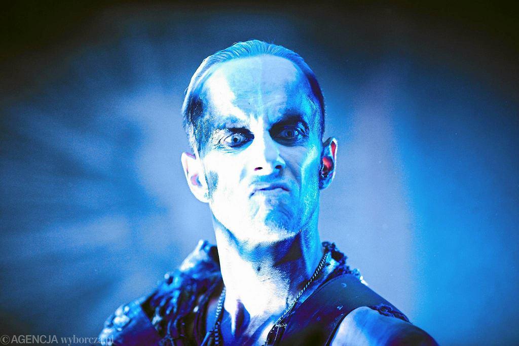 Adam 'Nergal' Darski z zespołu Behemoth