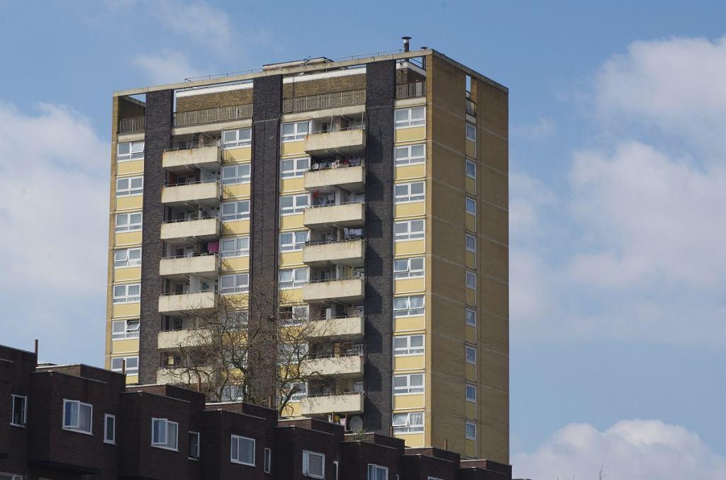 Blok w Londynie