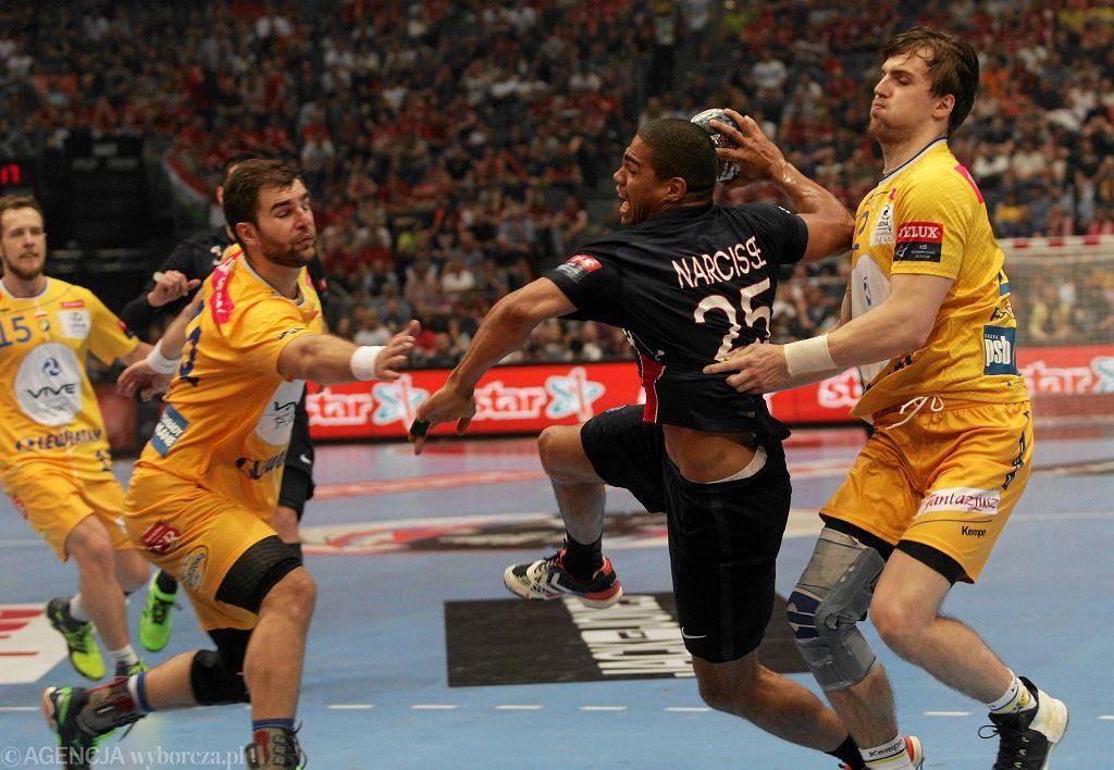28 maja 2016, Kolonia. Final Four Ligi Mistrzów piłkarzy ręcznych. Vive Tauron Kielce - Paris Saint-Germain 28:26