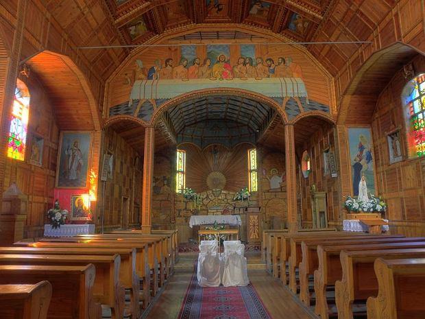 Wnętrze kościoła/ Fot. CC BY- SA 3.0/ Szater/ Wikimedia Commons