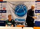 Co za wpadka Finów! Trener koszykarskiej Legii chciał wyjść z konferencji [WIDEO]