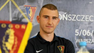 Patryk Adamczuk jest kapitanem drużyny juniorów starszych Pogoni Szczecin