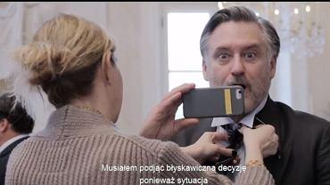 Kadr z filmu o kulisach 'Ukrytej gry'