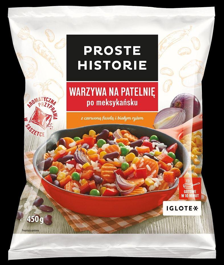 Warzywami na patelnię po meksykańsku marki PROSTE HISTORIE