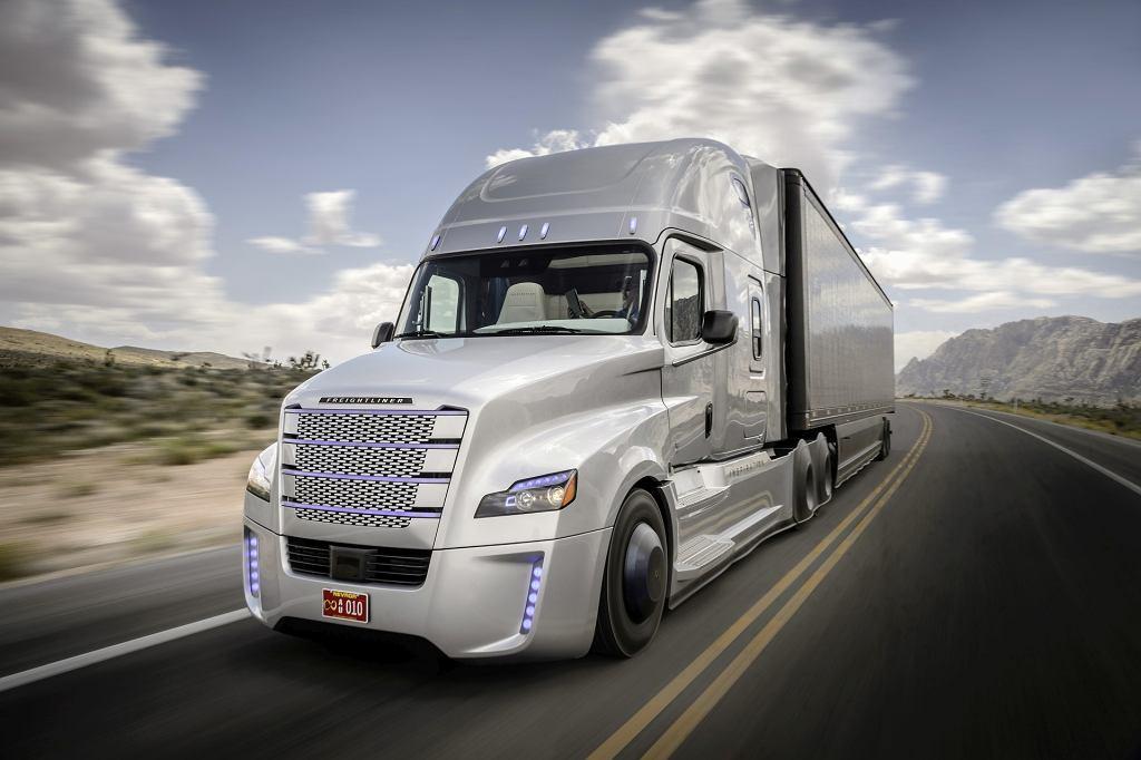 Autonomiczna ciężarówka Freightliner Inspiration Truck