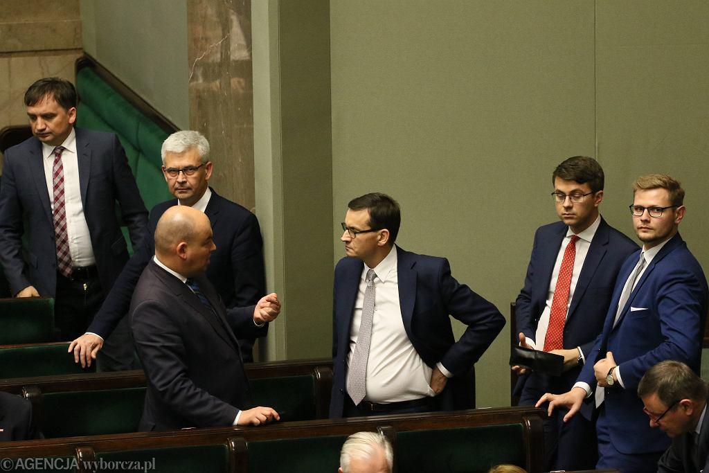 Wieczorny blok głosowań w Sejmie