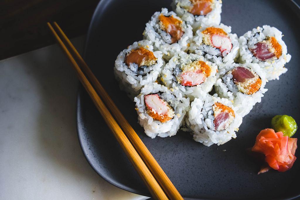 ile kalorii ma sushi