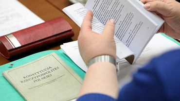 07.05.2018  Warszawa, Sejm. Komisja Polityki Społecznej i Rodziny. Posiedzenie w sprawie rent i zasiłków dla niepełnosprawnych.