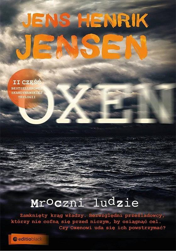 Okładka książki 'Mroczni ludzie', Jens Henrik Jensen