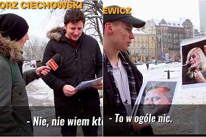 Reporter pyta o znanych Polaków