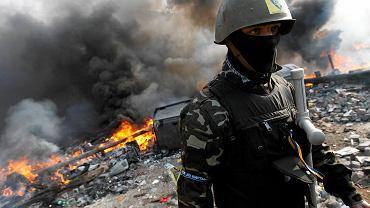 Kijów podczas starć opozycji z siłami rządowymi