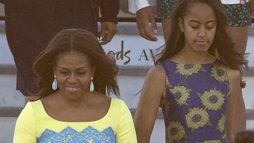 Michelle Obama i Malia Obama