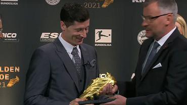 Lewandowski z nagrodą Złotego Buta