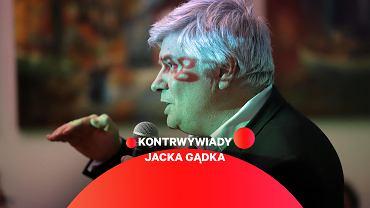 Dr Maciej Lasek, były przewodniczący Państwowej Komisji Badania Wypadków Lotniczych podczas debaty pt. 'Katastrofa Smoleńska - fakty i mity' w ramach Akademii Obywatelskiej
