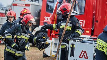 Pożar w szpitalu w Lesznie. Ogień podłożył pijany pacjent (fot. ilustracyjna)