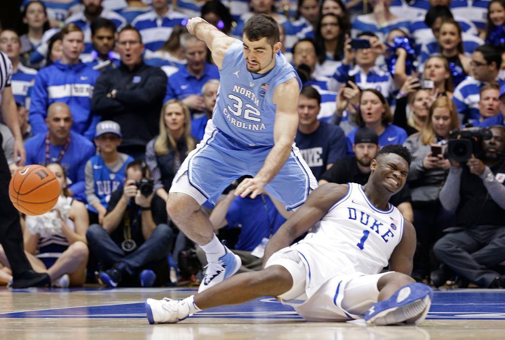 Zion Williamson skręcił kolano, gdy pękł jego but